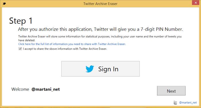 Delete your oldest tweets using Twitter Archive Eraser — Milan Aryal