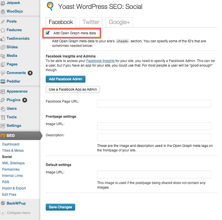 Installing WordPress SEO by Yoast